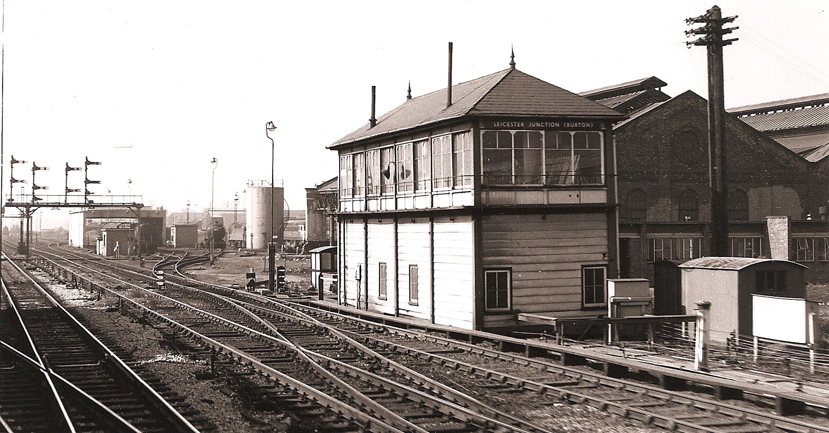 Burton Shed photographed on 5th April 1969 by M.A.King