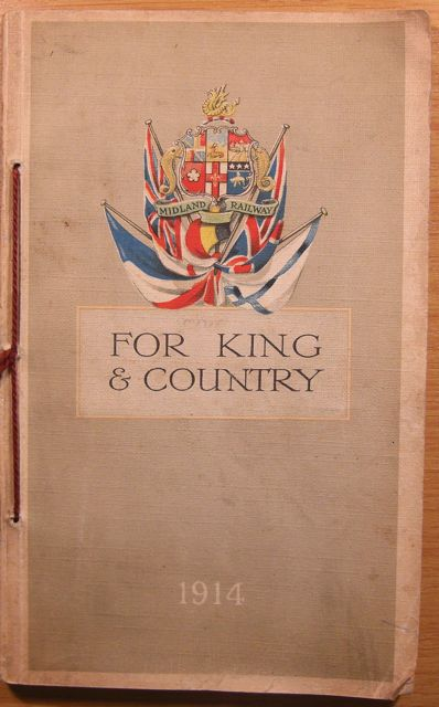 Cover of For King & Country pamphlet