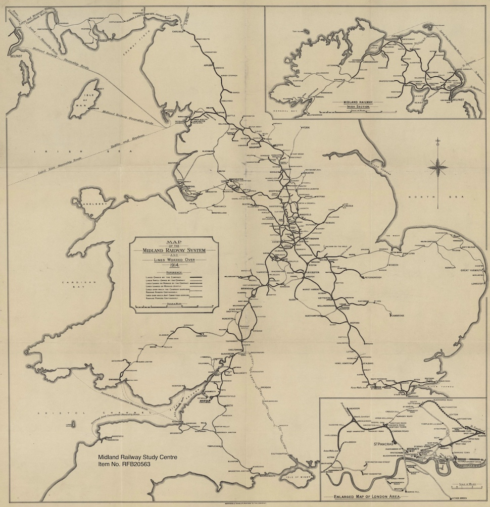 Thumbnail fo the MR System map 1914